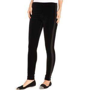 Lauren Ralph Lauren Black Tuxedo Stripe Leggings